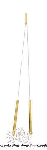 Wünschelrute mit Messing-Griff, 40 cm