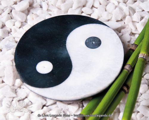 Ying-Yang - Räucherstäbchenhalter Marmor