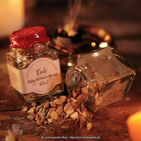 Yule Incense Räuchermischung, 40 ml