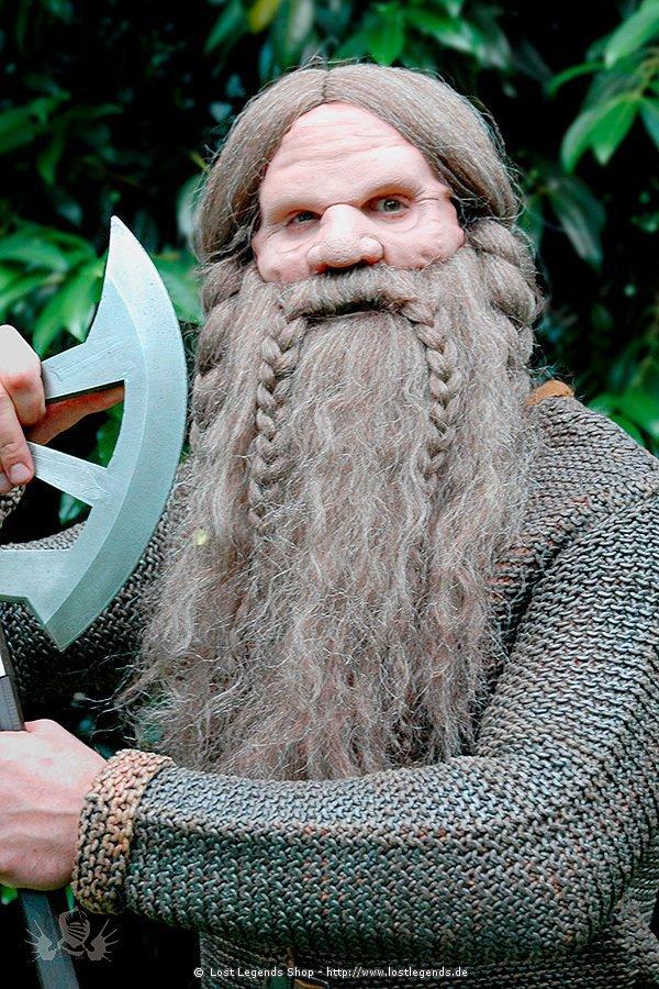 Dwarves Beard Set with wig