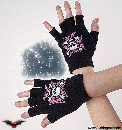 Fingerhandschuhe skull