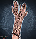 Victorian long Gloves schwarz Handschuhe Spitze