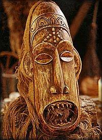 Afrikanische Masken (10 Artikel)