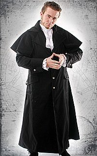 Dark Lord Mantel, Baumwolle