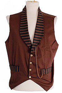 Golden Steam Steampunk Veste