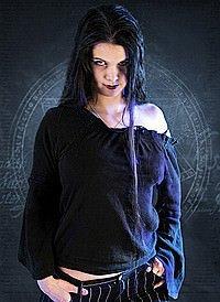 Gothic Bluse Black Melody