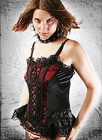 Gothic Mieder Nocturnal Sister
