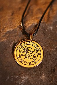 Magisches Elementar-Amulett Spiritus Anima