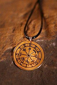 Magisches Elementar-Amulett Terra - Solidus