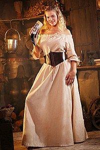 Mittelalter Kurzarmkleid