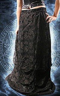 Mystic Angel Gothic Spitzenrock