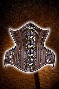 Steampunk Gears underbrust corset