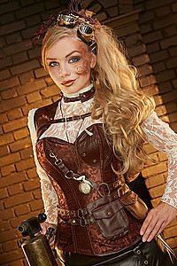 Timeless Adventurer Steampunk Korsett