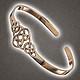 Bronze Armreif keltischer Knoten