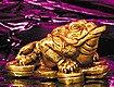 Dreibeiniger Geldfrosch