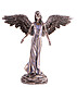 Friedensengel Bronze Kunstharz, 30cm