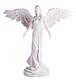 Friedensengel Weiß Kunstharz, 30cm