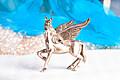 Pegasus Versilbert