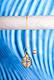 Spiralpendel mit Bergkristall vergoldet
