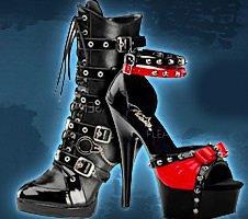 Gothic Schuhe, Stiefel & High Heels